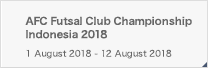 AFC Futsal Club Championship Indonesia 2018