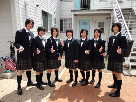富岡高等学校制服画像