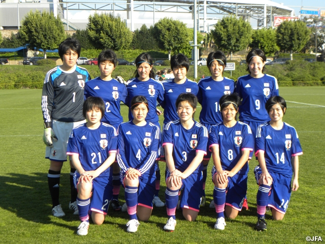 U-17日本女子代表 アメリカ遠征 ...