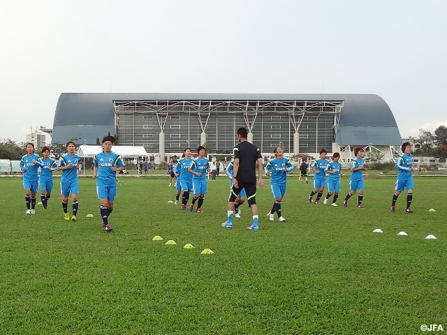 Nadeshiko Japan start preparations for AFC Women's Asian Cup in Vietnam