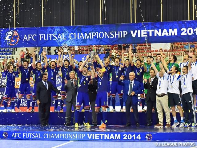 フットサル日本代表 AFCフットサル選手権 イランをPK戦で下し初の大会連覇 | JFA|公益財団法人日本サッカー協会