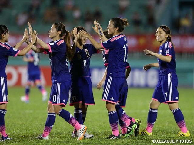 Nadeshiko Japan tame Vietnam 4-0 in AFC Women's Asia Cup