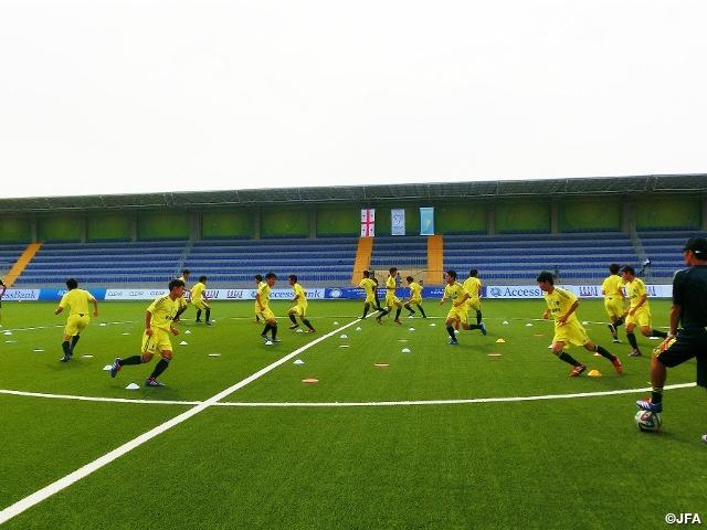 U-16日本代表 カスピアンカップ2...