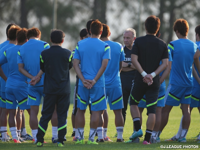 Japan squad return to Itu, prepare for next match