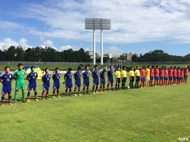 U-19日本代表 SBS国際ユースサッカー マッチレポート第3戦