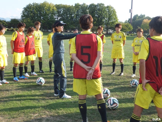 Japan women's U-23 candidates begin training camp in Yamagata – (report on 9 Sep)