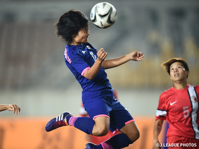 Nadeshiko Japan rout Hong Kong 9-0 for semifinal berth - 17th Asian Games Incheon 2014
