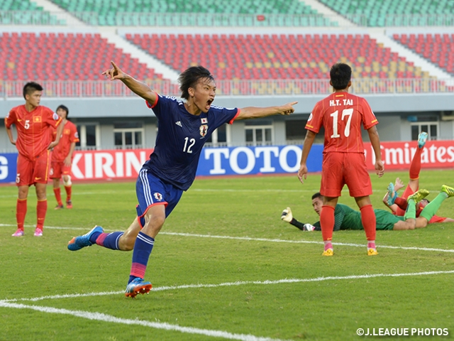 Japan U-19 first win for scoring consecutive goals before final whistle – AFC U-19 Championship Myanmar 2014