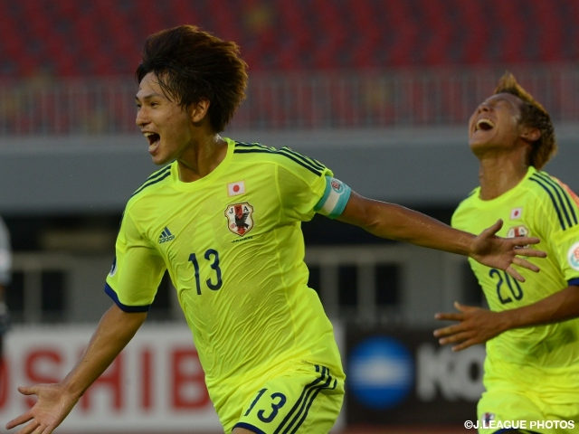 U-19 Japan won against Korea in AFC U-19 Championship Myanmar 2014