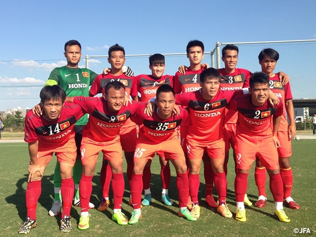 online retailer ae5bc a1009 Vietnam national team hold training camp | Japan Football ...