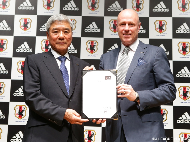 adidas Japan K.K. sign Football Japan National Teams' official supplier agreement