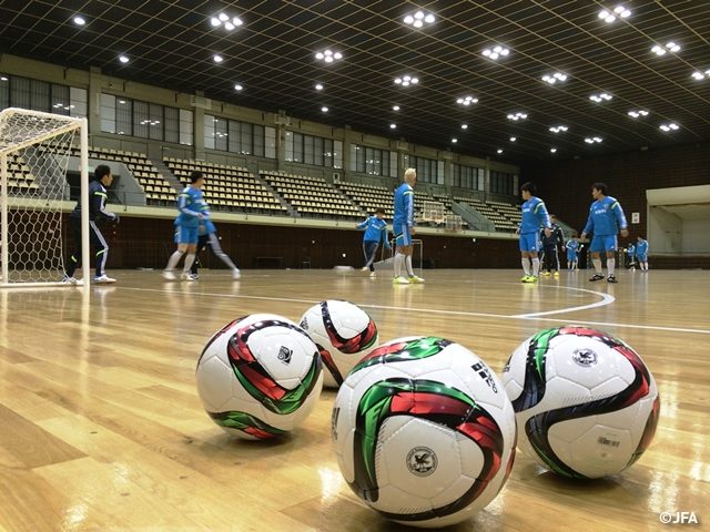 Pre-match day report for futsal international friendlies between Japan and Croatia (16 Dec)