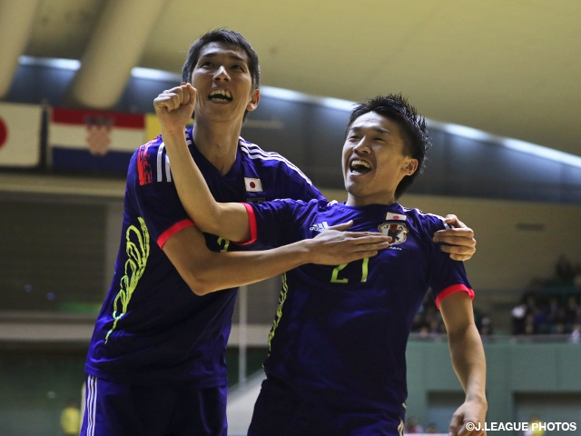 Futsal Japan National Team draw with Croatia in friendly #1