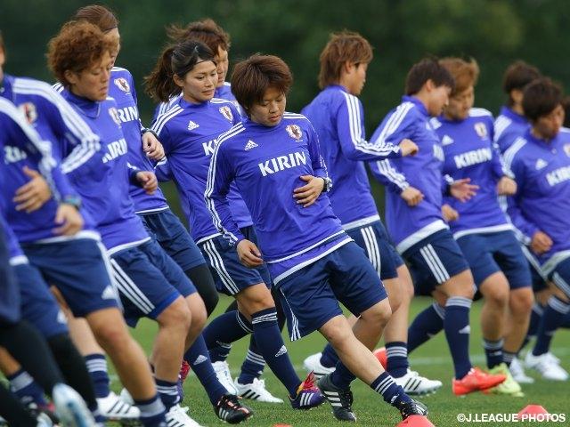 なでしこジャパン アルガルベカップに向け2015年の活動をスタート