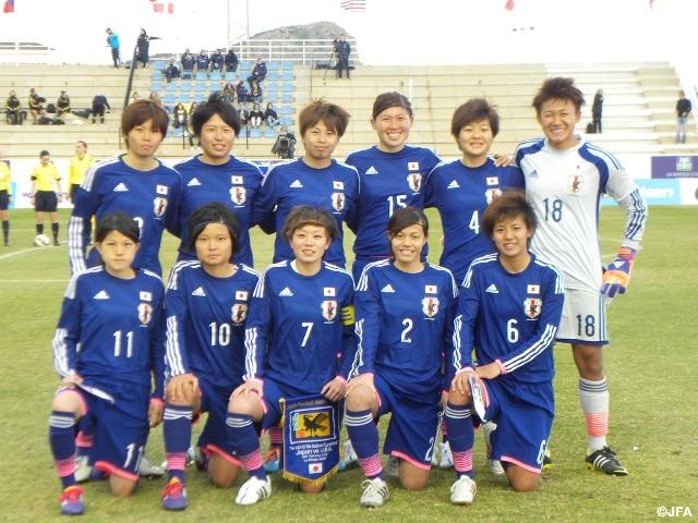 U-23日本女子代表 ラ・マンガ国際大会 初戦でアメリカに惜敗