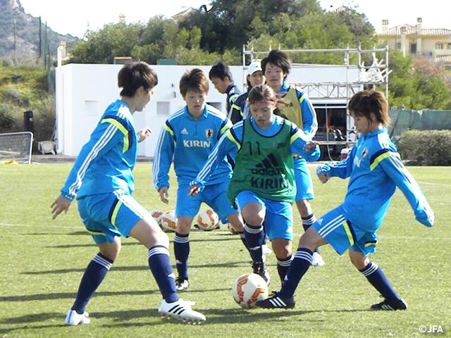 U-23日本女子代表 ラ・マンガ国...