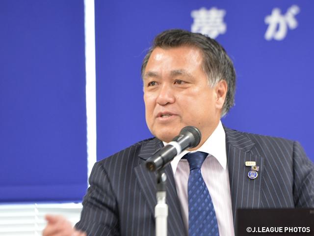 FIFA理事選挙 田嶋幸三JFA副会長が当選