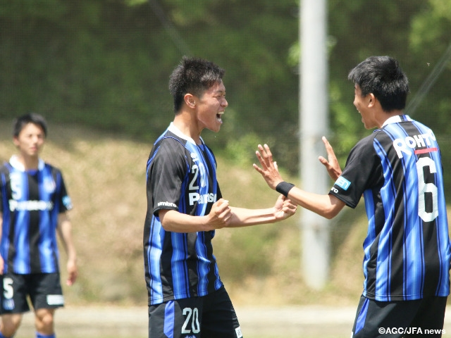 Gamba Osaka Win Scoring Thriller In Prince Takamado Trophy U 18 Premier League West Japan Football Association