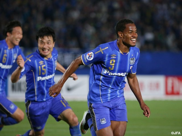 Gamba Finish Group Stage Atop Onto Round 16 Kashiwa Suffer First Loss Acl Group Stage Md 6 Day 2 Japan Football Association