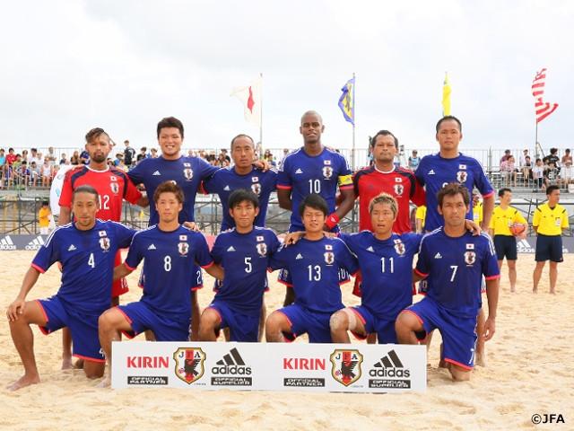 ビーチサッカー日本代表 国際親...