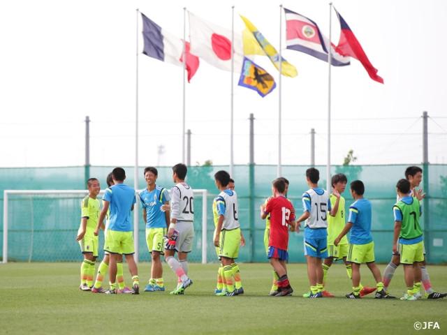 U-16日本代表 U-16インターナショナルドリームカップ2015 JAPAN 第1戦 vs. U-16コスタリカ代表 | JFA|公益財団法人日本サッカー協会