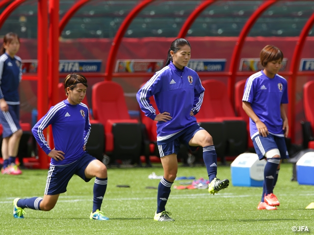 Japan boss Sasaki confident of players' strong mentality ahead of the Australia clash in FIFA Women's World Cup