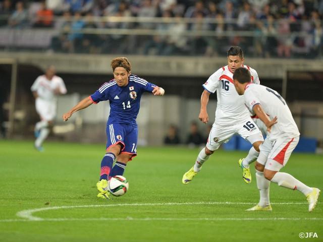 U-22日本代表、コスタリカに快勝...