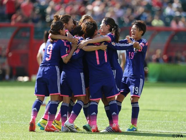 なでしこジャパン、イングランド戦勝利で決勝進出