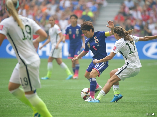 Nadeshiko Japan fall to USA, finish runners-up in tournament - FIFA Women's World Cup final