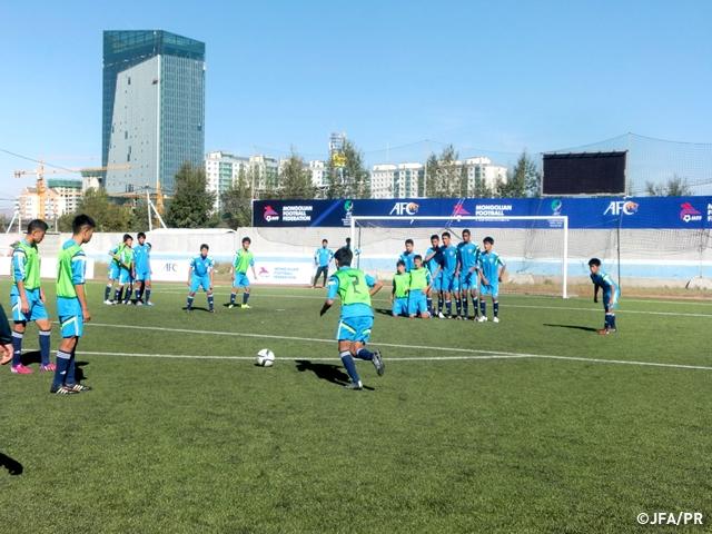 U-15日本代表 00ジャパン AFC U-...