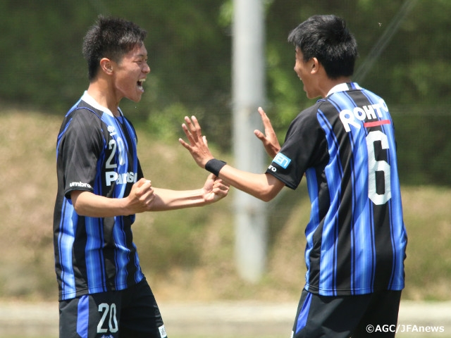 Gamba Osaka Oita To Go Head To Head Prince Takamado Trophy U 18 Premier League West Japan Football Association