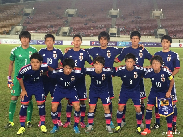 6e58aedab2d U-18 Japan National Team post win in 1st tournament game
