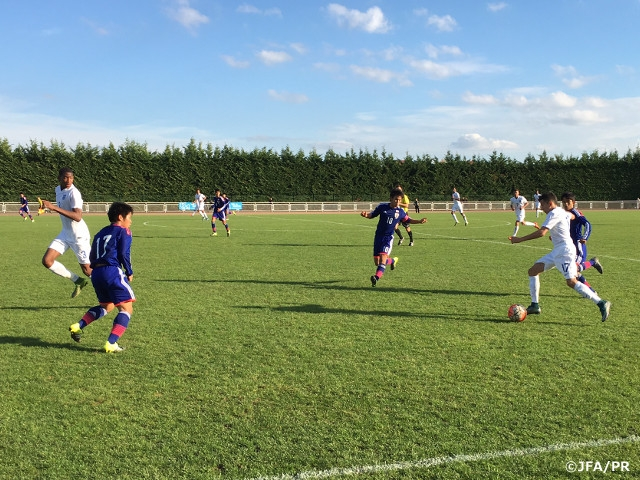 Victory over U-15 England National Team in Val-de-Marne U-16 International Friendly Tournament 2015