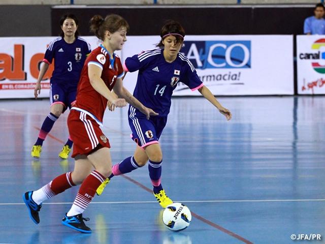 第6回世界女子フットサルトーナメント2015 グループリーグ第3戦フットサルロシア女子代表に敗れ、グループステージを3連敗で終える | JFA|公益財団法人日本サッカー協会