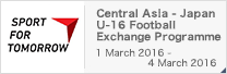 SPORT FOR TOMORROW Japan-Central Asia U-16 Football Exchange Programme