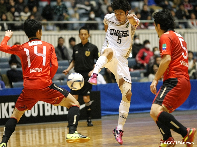 Exciting matches bring the decider of the 21st All Japan Futsal Championship one step closer
