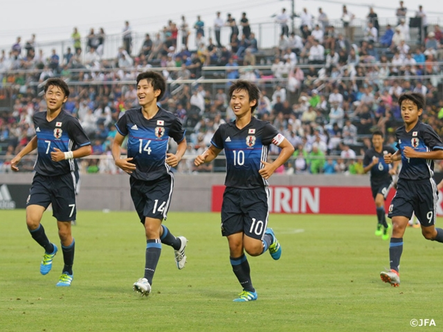 U-16 Japan National Team won the 1st match of the International Dream Cup 2016