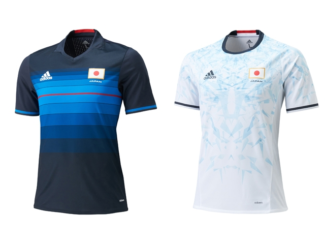 Release of Japan National Team s official kit for Olympic Football  Tournament Rio 2016 f2944bde6
