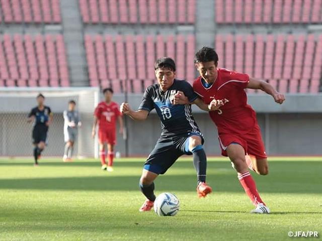 U-17日本代表、U-17新潟選抜に敗...