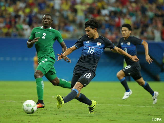 Japan's Olympic squad start tournament with defeat against Nigeria