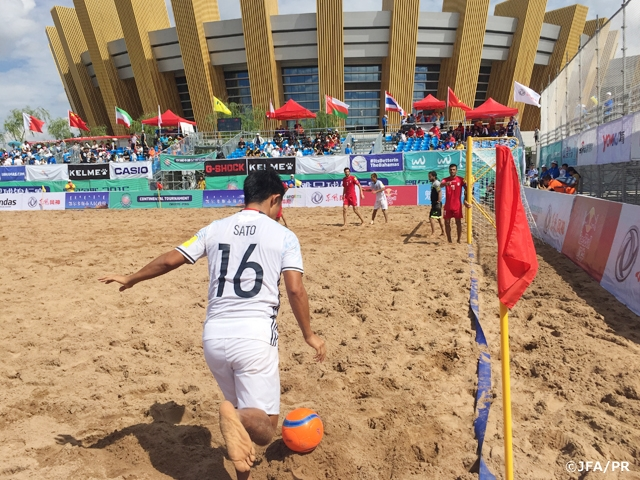 ビーチサッカー日本代表 中国遠征 第2戦ビーチサッカーイラン代表戦 | JFA|公益財団法人日本サッカー協会