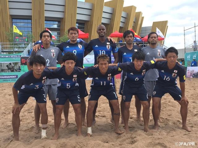 ビーチサッカー日本代表 中国遠...