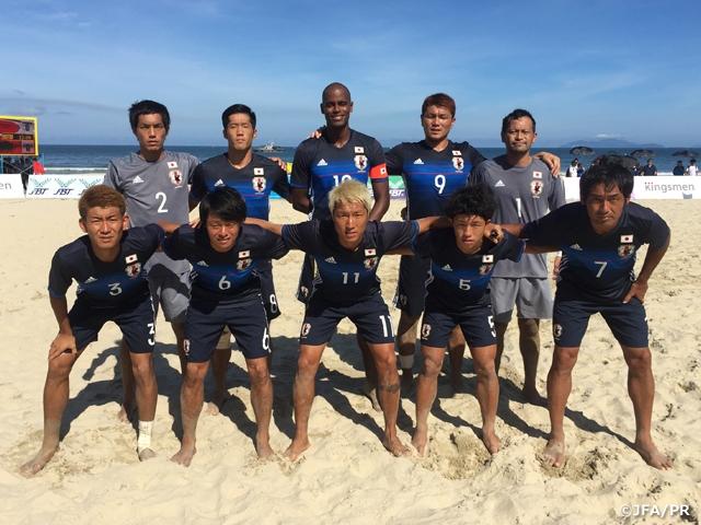 アジアビーチゲームズ ビーチサッカー日本代表、2連勝でグループステージ突破