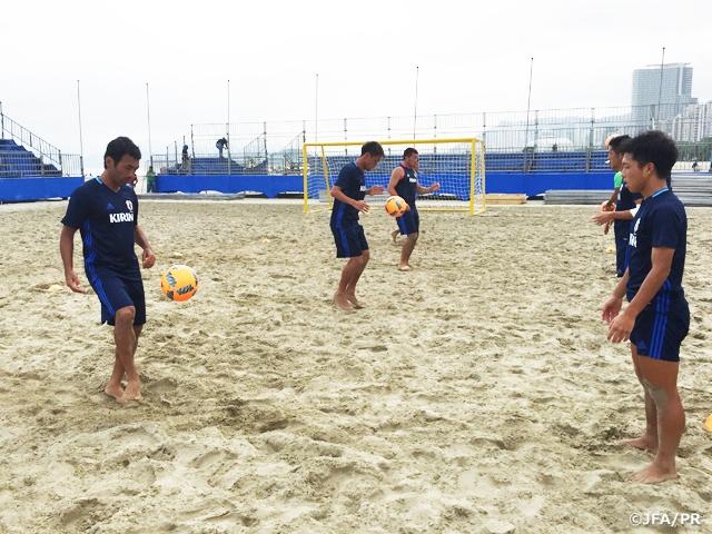 ビーチサッカー日本代表 ブラジ...