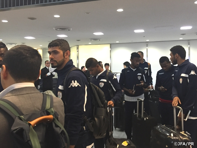 Oman National Team arrive in Japan for KIRIN CHALLENGE CUP 2016
