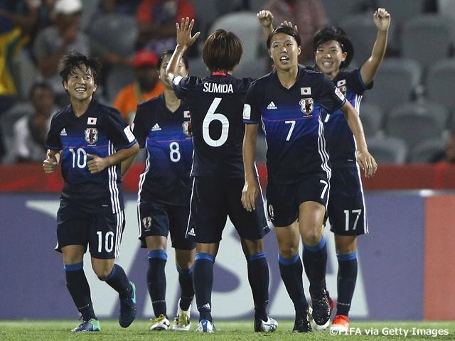 U-20日本女子代表、ブラジルに勝...