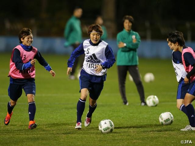 日本女子代表候補 2016年を締めくくるトレーニングキャンプを開始