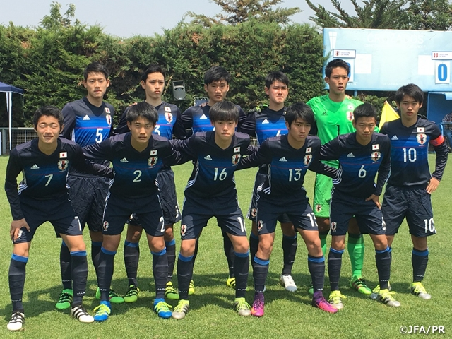 U-16 Japan squad win final group league match but sent to consolation final at COPA UC 2016 in Chile