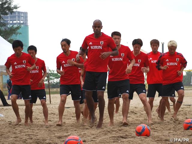 ビーチサッカー日本代表、開催地マレーシアでの調整進む AFCビーチサッカー選手権