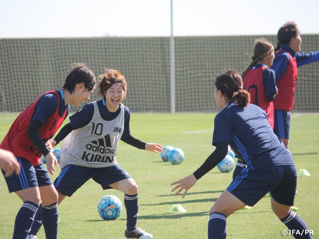 U-23日本女子代表 ラ・マンガ国際大会に向け始動